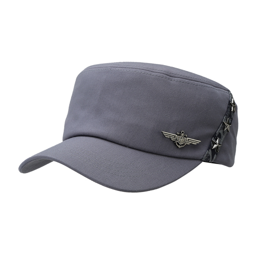 H.coustic MILITARY CAP 105 (GY)