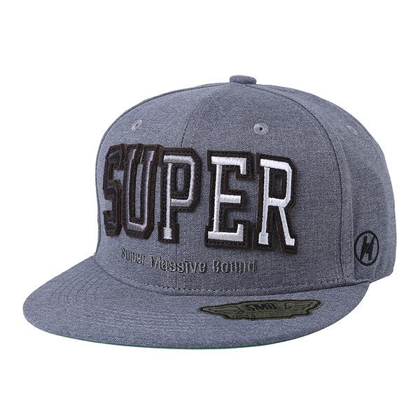 SUPER BOUND FITTED CAP 212 (GY)